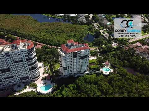 Bay Colony Marquesa Naples Florida 360 degree fly over video