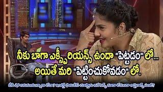 Sreemukhi liplock with Ravi ? |  Dhanraj Most Vulgar Question Asked To Anchor Sreemukhi |