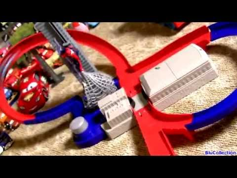 Amazing Spider-Man 2 Speed Circuit Showdown Track With Electro Hot Wheels