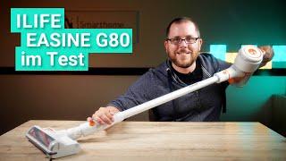 EASINE G80 im Test - Der Akku-Staubsauger von ILIFE mit Saugroboter-Seitenbürste