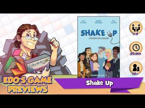 Edo's Shake Up Review (KS Preview)