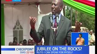 William Ruto dismisses disunity within Jubilee