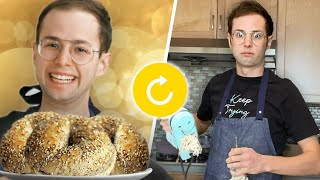 Try Guys RETRY Cooking Bagels Without A Recipe
