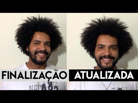 MINHA FINALIZAÇÃO PARA CABELO CRESPO CACHEADO