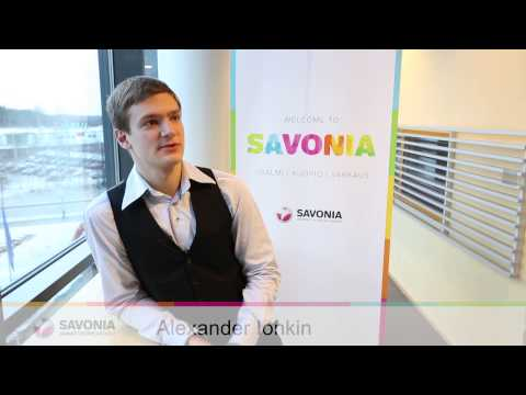 Savonia University of Applied Sciences video