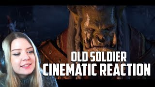 OLD SOLDIER   Cinematic Reaction   Saurfang for warchief pls