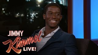 Damson Idris Learned American Accent from Famous Rapper