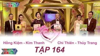 Hồng Kiệm - Kim Thanh | Chí Thiên - Thùy Trang | VỢ CHỒNG SON | Tập 164 | 02/10/2016