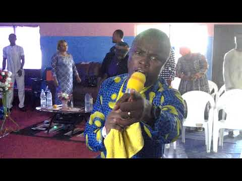 Only God answer prayers in liberation Grace Ministry by Prophet Michael Boko