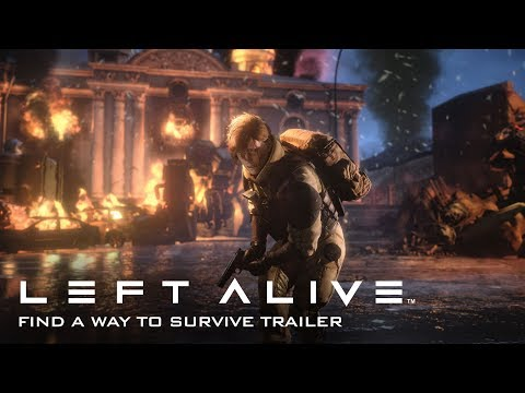 "LEFT ALIVE - ""Find a Way to Survive"" Gameplay Trailer thumbnail"