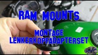 RAM MOUNTS Montage Lenkerkopfadapterset #Motovlog-95