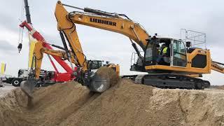 Generation 8 Liebherr Excavators At The Demo Ground Bauma 2019