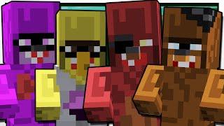 Minecraft   FIVE NIGHTS AT TRAYAURUS'   Custom Mod Adventure