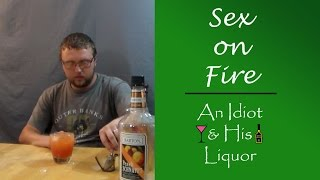 Sex on Fire - Cinnamon Whiskey makes this drink spicy!