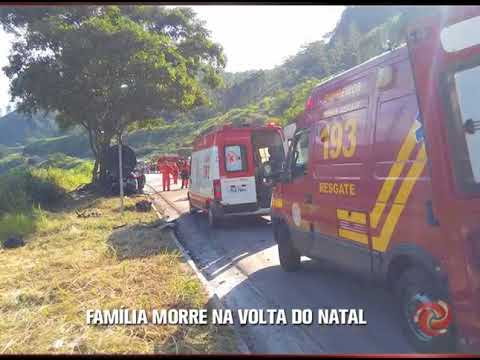 ANTÔNIO DIAS: Três pessoas morrem na BR-381