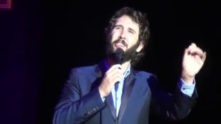 Josh Groban 10.05.2016 BERLIN - Finishing The Hat