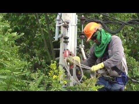 Cambio de Postes y Redes Eléctricas en San Luis - Cúcuta