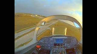 Fpv F5 sunset flight.