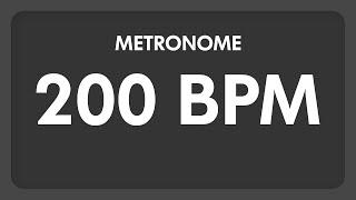 200 BPM   Metronome