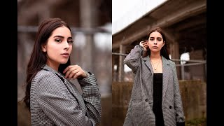 How To Get A Sharp Focus Shooting Wide Open-Low F Stop & Aperture Photography Portrait Tutorial