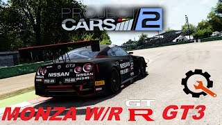 Project Cars 2 Nissan GTR GT3 Monza 1.46.149 World Record Setup Guide