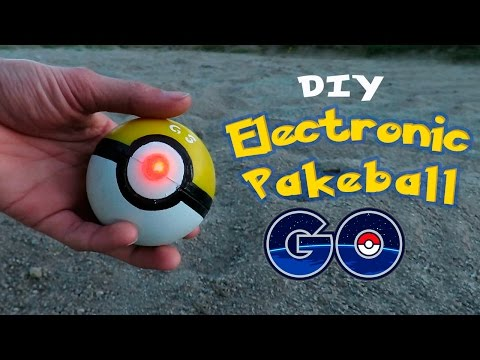 DIY Electronic Pokeball – How To Make an Electronic Pokeball for Pokemon GO!