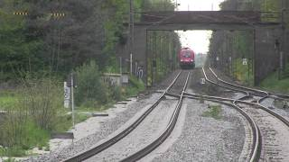 preview picture of video 'Ochenbruck/Schwarzenbruck Bahnhof 09.05.2014 mit Güterverkehr'
