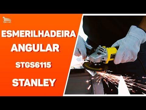 Esmerilhadeira Angular de 4.1/2 Pol. 600W  - Video