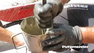 Putzmeister: Testing fresh concrete - Slump test