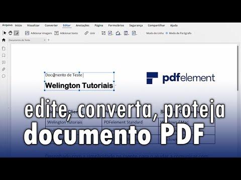 Download Como editar, converter e proteger documento PDF com o PDFelement Mp4 HD Video and MP3