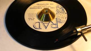 THE METAPHORS - YOU HAVE EVERYTHING (That a man could Love) RAD 712