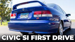 2000 EM1 Honda Civic Si: First Drive