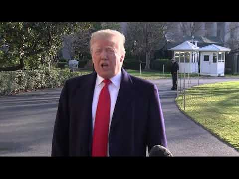 President Donald Trump says he doesn't expect anything to come out of a second day of negotiations between top administration officials and senior congressional staff trying to end the partial government shutdown now in its third week. (Jan. 6)