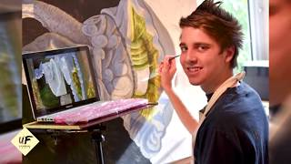 Youngest Professional artist in the world. Famous Child Prodigy