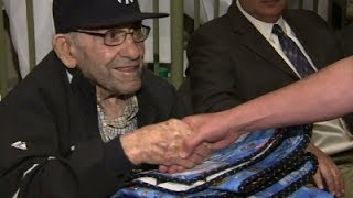 Yogi Berra Honored