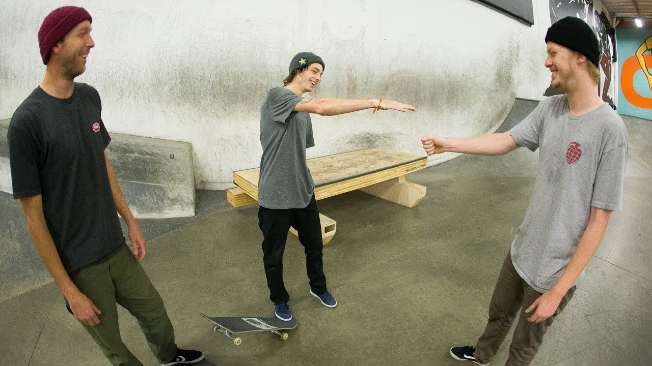 Attack The Block  | Tyson Bowerbank, Robbie Brockel, & Jack Olson - The Berrics