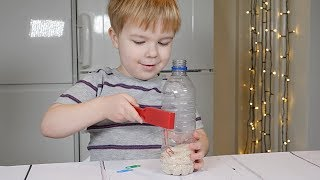 Counting Activity With Magnet Discovery Bottle