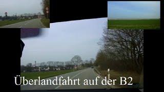 preview picture of video 'Überlandfahrt auf der B2 zwischen München u. Bobingen'