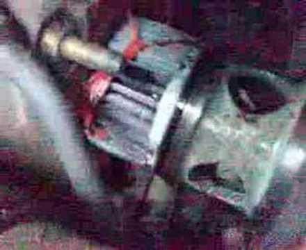 filtro olio sollevatore sull'aspirazione della pompa