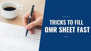 How to fill OMR Sheet   Tricks to fill OMR Sheet fast