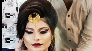 Advance Bridal Wedding Hairstyle Tutorial Step By Step In Hindi
