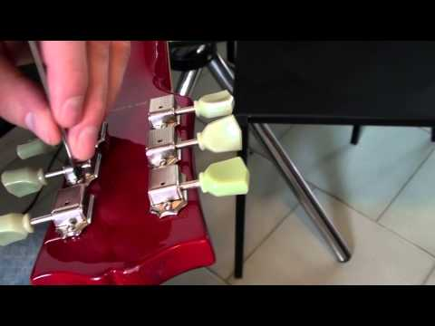 How to Replace a Tuner/Tuning Peg on a Gibson Style Guitar