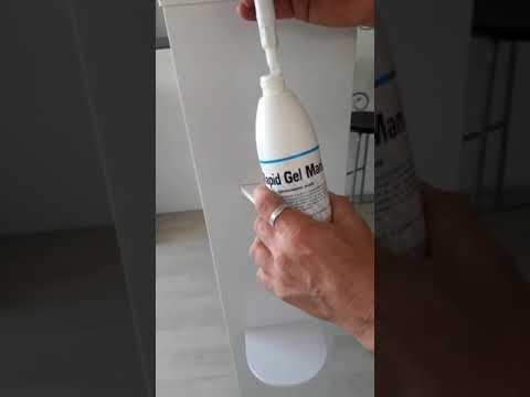 Istruzioni per Attacchi igenizzante su dispenser ElioCartoTecnica