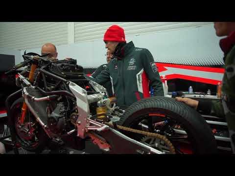 Domi Aegerter #77 MV Agusta Forward Racing Team