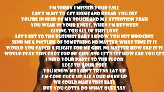 Jacquees Ft. T-Pain - Rodeo (official LYRICS)