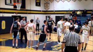 Shore Conference Boys Basketball 15-16: CBA-66 vs. Marlboro-44
