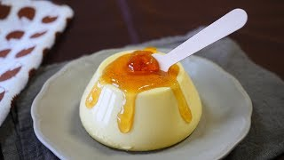 Cream Cheese Pudding With Maple Syrup That Looks Like A Plastic Food Sample