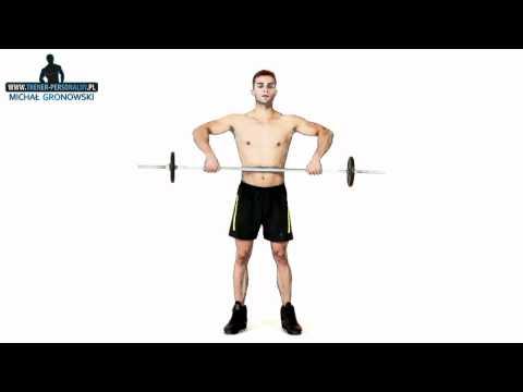 Ćwiczenia dla niektórych mięśni ramion