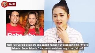 How is Maja Salvador towards Gerald Anderson and Bea Alonzo? | PEP TALK