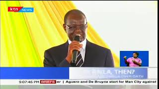 Kiraitu: Where will Raila Odinga go after being sworn in,now that State House is already occupied